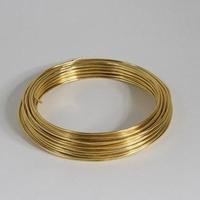 Aluminium draad goud 2mm  Gr