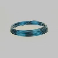 Aluminium draad blauw 2mm  Gr