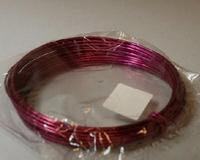 Aluminium draad fuchsia 2mm  Gr