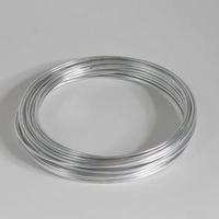 Aluminium draad zilver 2mm  Gr